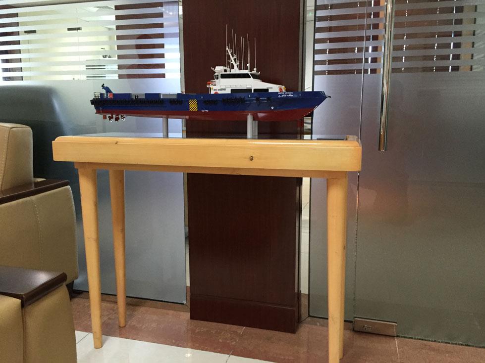Scale Model - crew boat - Mattaf Sky